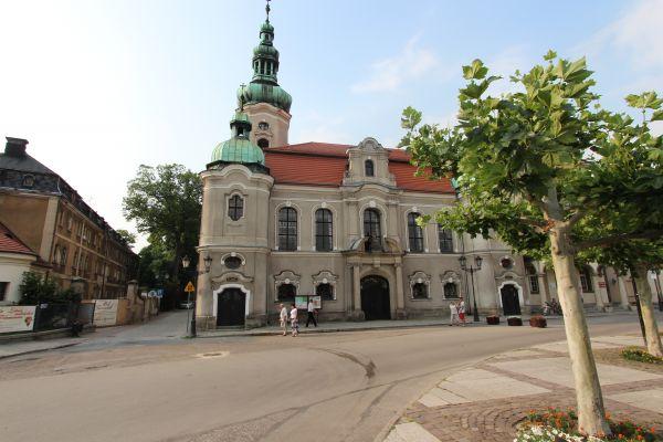 Kościół ewangelicki i oficyny zamkowe w Pszczynie