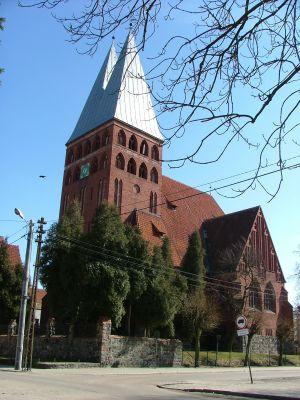 Kościół Ewangelicki przy ul. Sienkiewicza w Ostródzie