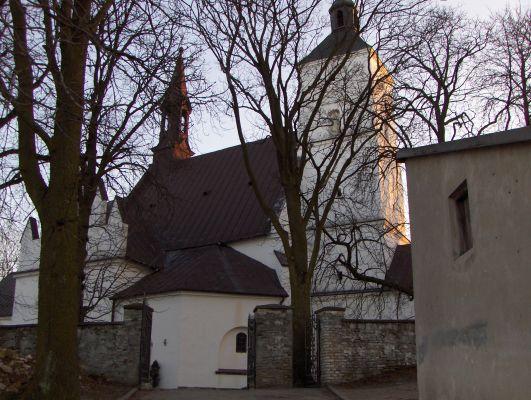 Kościół Narodzenia NMP w Małogoszczu z 1595 roku