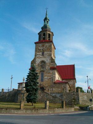 Kościół parafialny w Łopusznie pod wezwaniem Podwyższenia Krzyża Świętego