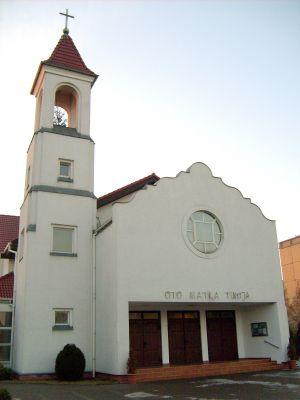 Kościół parafialny w parafii Matki Bożej Miłosierdzia w Swarzędzu