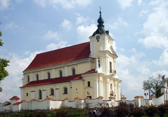 Siematycze - Kościół parafialny Wniebowzięcia NMP