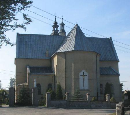 Kościół pw. Nawiedzenia N.M.P. i św. Stanisława Biskupa w Chruszczobrodzie.