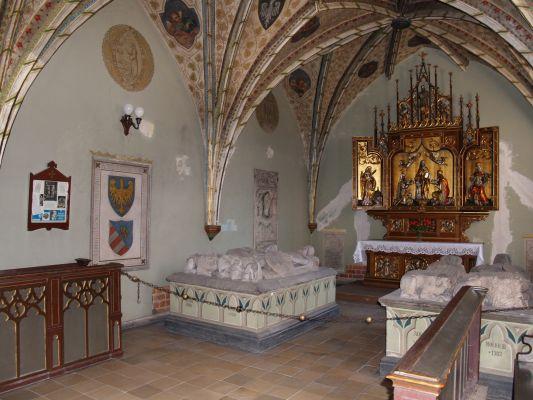 Kościół Św. Trójcy w Opolu - Groby Piastów Opolskich