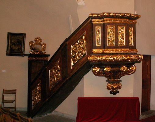 Kościół Świętego Ducha w Bytomiu - ambona