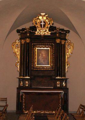 Kościół Świętego Ducha w Bytomiu - ołtarz boczny po stronie Lekcji