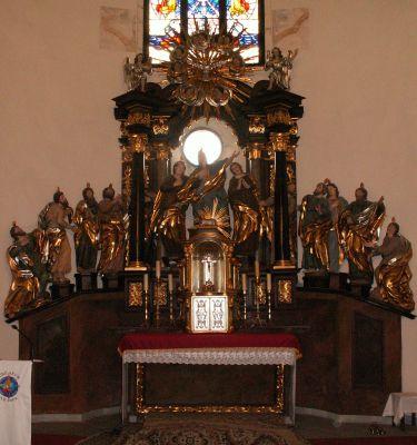 Kościół Świętego Ducha w Bytomiu - ołtarz główny