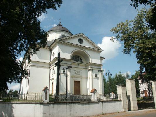 Kościół w Mokobodach