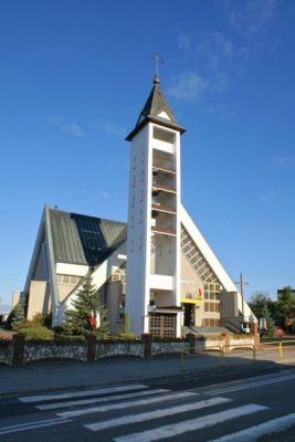 Kościół w Rogoźniku, parafia św. Jadwigi.