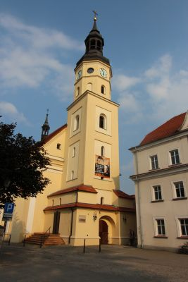 Pszczyna, kościół Wszystkich Świętych, wieża
