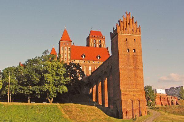 Kwidzyn, Zamek od strony zachodniej