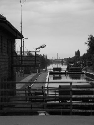 Łabędy – Śluza Łabędy na Kanale Gliwickim