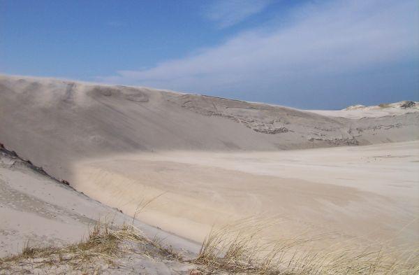 Łącka Góra, Słowiński Park Narodowy - ruchome wydmy