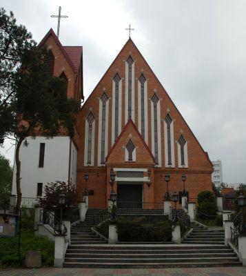 Legionowo - kościół Najświętszego Ciała i Krwi Chrystusa
