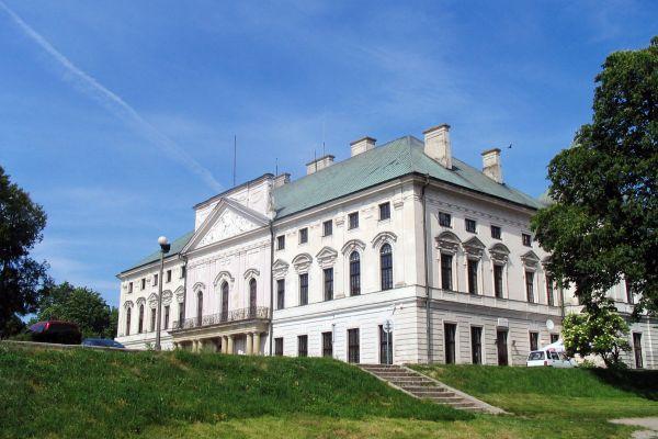 Lubartów, Pałac Sanguszków