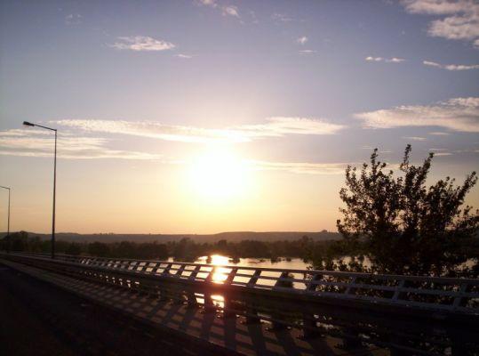 Most na Wiśle w Annopolu