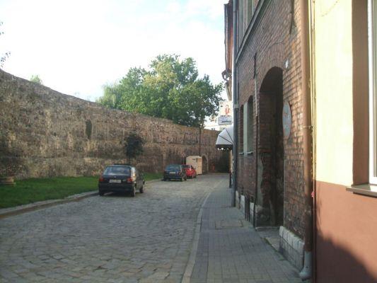 Mury miejskie w Krapkowicach