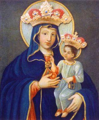 Obraz Matki Boskiej Piekarskiej, patronki ludzi pracy na Śląsku