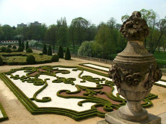 Ogród francuski przy Pałacu Branickich w Białymstoku