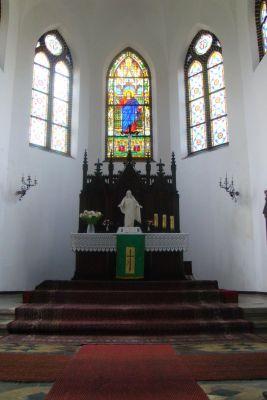 Ołtarz w kościele Zbawiciela w Szopienicach