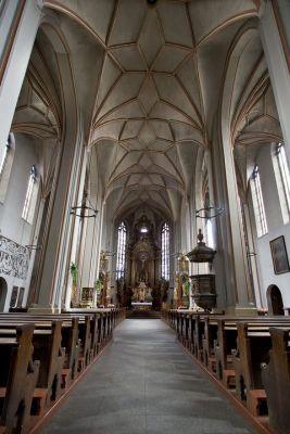 Opole - Katedra Podwyższenia Krzyża, wnętrze