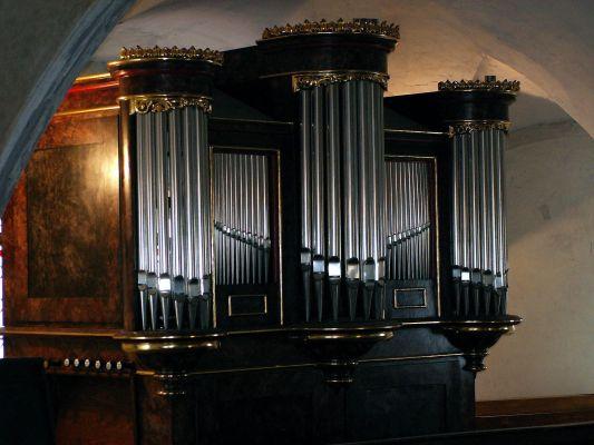 Organy Ed. Horn 1875 r. w kościele św. Ducha