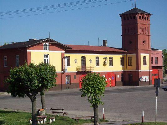 OSP w Sulejowie. Widok z wału