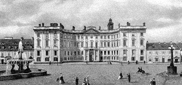 Pałac Jabłonowskich w 1862 r