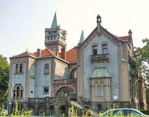 Pałac Schöna (Sąd) w Sosnowcu Sielcu