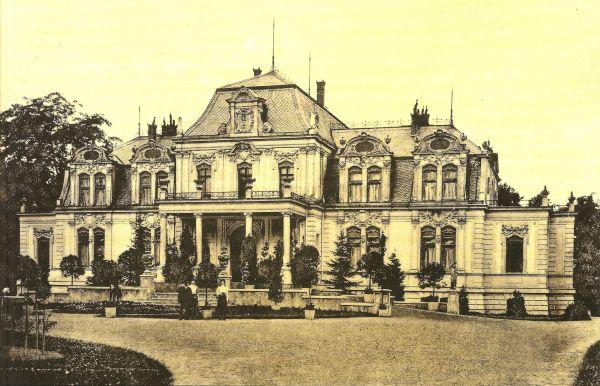 Pałac w Błociszewie w powiecie śremskim w 1912 r