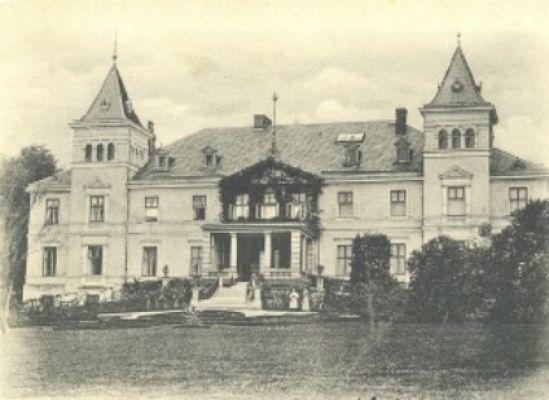 Pałac w Czerwięcicach - kiedyś
