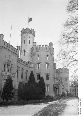 Pałac w Szczoderm w 1932r