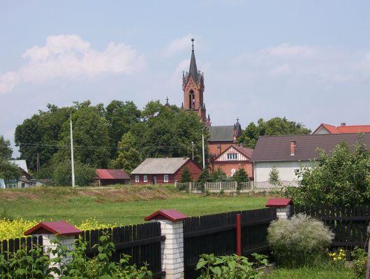 Panorama Komarówki Podlaskiej