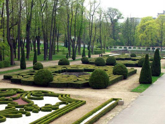 Park Branickich w Białymstoku - ogród francuski