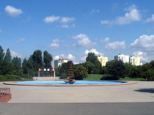 Park na Wyspie w Pile