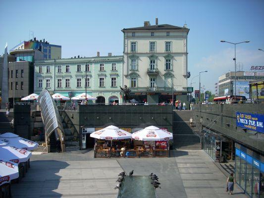 Plac Stulecia w Sosnowcu