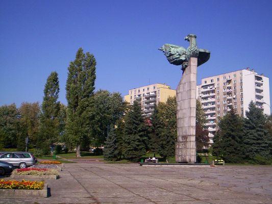 Plac Tysiąclecia w Chrzanowie