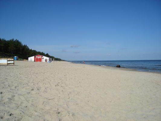 Plaża w Stegnie