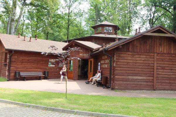 Pszczyna, Pokazowa Zagroda Żubrów, budynek muzeum