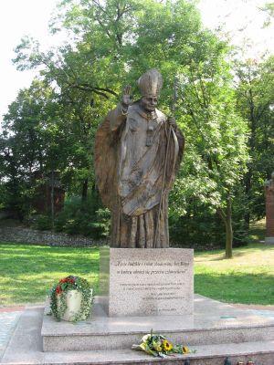 Pomnik Jana Pawła II w Piekarach Śląskich