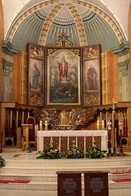 Prezbiterium w Katedrze św. Mikołaja w Bielsku-Białej