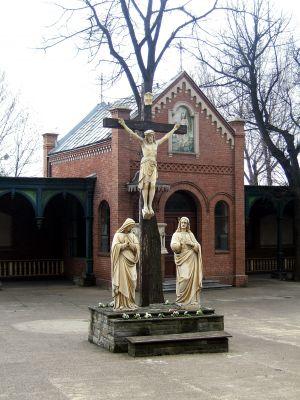 Rajski Plac z kaplicą św. Bartłomieja