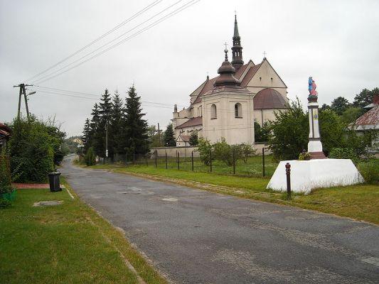 Raków, kościół Św. Trójcy