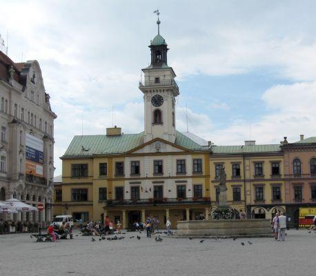 Ratusz przy Cieszyńskim Rynku