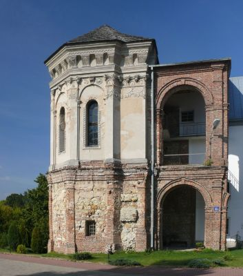 Ruiny pałacu Firlejów w Dąbrowicy