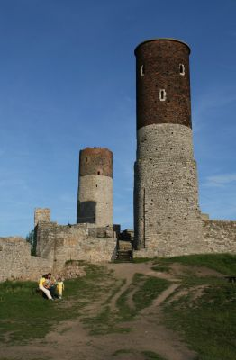 Ruiny zamku w Chęcinach