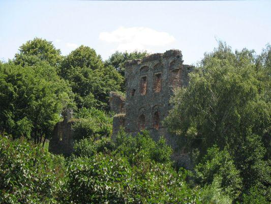 Ruiny zamku w Międzygórzu