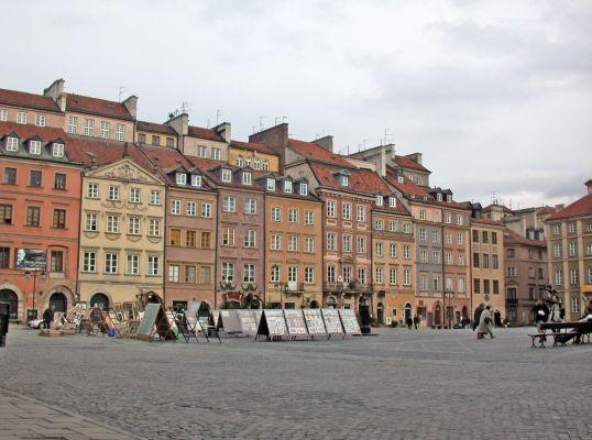 Rynek Starego Miasta w Warszawie, Strona Barssa