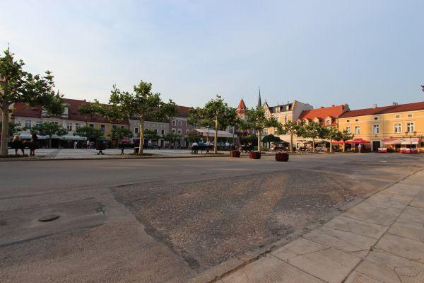 Rynek w Pszczynie - fragment północno-wschodni