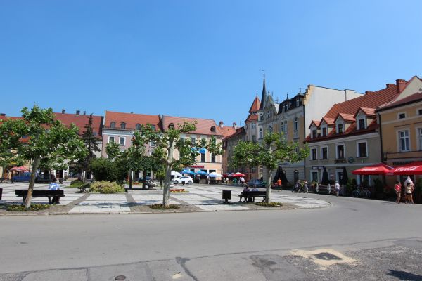 Rynek w Pszczynie - część północno-wschodnia